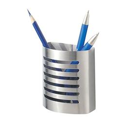 InterDesign Forma Magnetic Pencil Cup, Brushed Stainless Ste