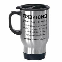 Funny Engineer Definition Stainless Steel Commuter and Trave