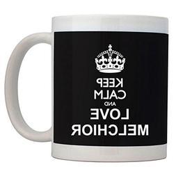Fuuny Coffee Mugs Keep calm and love Melchior Mug