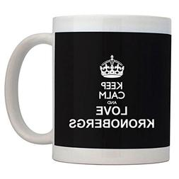 Fuuny Coffee Mugs Keep calm and love Kronobergs Mug