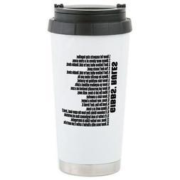 CafePress Gibbs Rules Travel Mug Stainless Steel Travel Mug