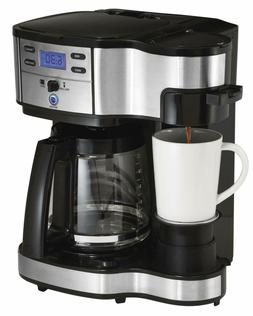Hamilton Beach 49980A Coffee Maker Single Serve Black Stainl