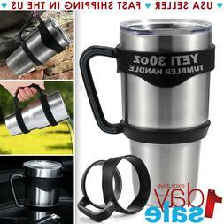 Handle For 30 Oz YETI RTIC Ozark Tumbler Rambler Cup Black T