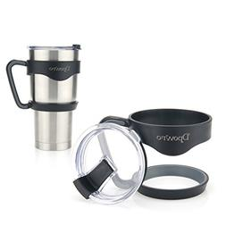 Handle 30 oz with Leak and Spill Proof Lid For YETI Rambler
