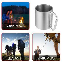 Handle Traveling Home & Kitchen Water Mug Stainless Steel Cu