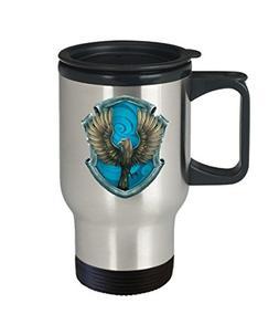 Harry Potter Ravenclaw House Crest Mug - 16 oz Ravenclaw Cof