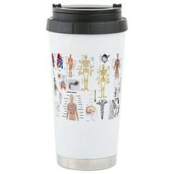 CafePress - Human Anatomy Charts Travel Mug - Stainless Stee