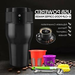 i Cafilas USB Powered Portable Single Serve K CUP Coffee Mak