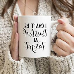 I can't be trusted at Target funny coffee mug for her ~ Funn