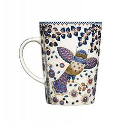 "iittala Individual Taika ""Magic"" Blue Coffee Tea Mug Cup"