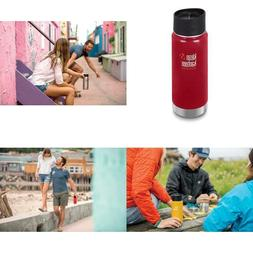 Insulated Coffee Mug Bottle 16oz 003138 Wide Mineral Red Tra