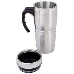 16oz Insulated Tumbler Coffee Mug Travel Stainless Steel Lin