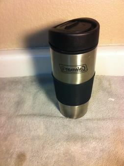 COLEMAN  INSULATED TRAVEL COFFEE MUG--STAINLESS--LID----FREE