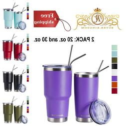 Insulated Tumblers Travel Coffee Cup Mug Vacuum Stainless St