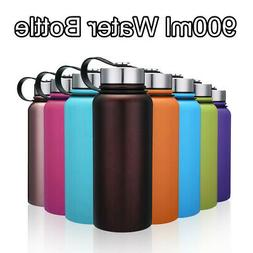Insulated Water Bottle Travel Mug Stainless Steel Sport Vacu