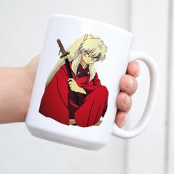 Inuyasha Ceramic Coffee Mug Funny Novelty Mug Cup Travel Mug