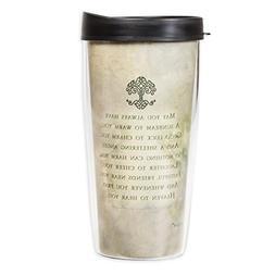 Irish Blessing Tree of Life 16 Oz Tumbler Mug with Lid