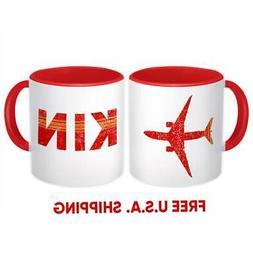 Jamaica Norman Manley Airport Kingston KIN : Mug Gift Travel