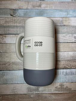 Ello Jane Ceramic Travel Mug with Slider Lid Gray 18 oz