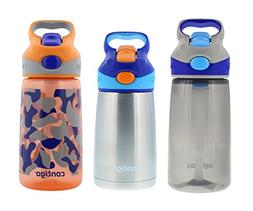 Contigo Kids Autospout Striker & Chill Water Bottle Set - On