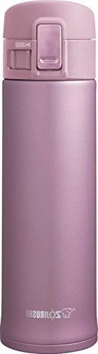 16 OZ, Slick Steel Finish, Compact Design Mug in Lavender Pi