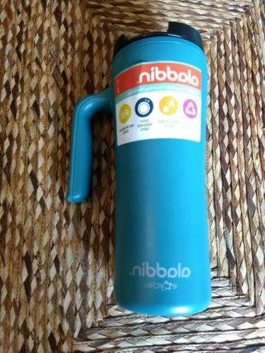 16 oz travel mug ecycle turquoise brand