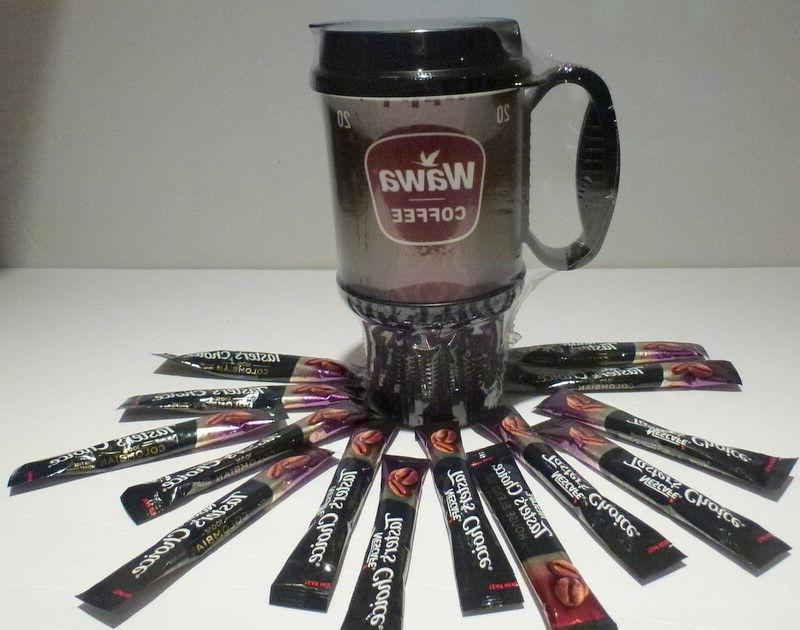 16 oz wawa travel coffee thermal mug