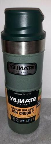 Stanley 16oz Coffee Thermos Green Classic Series Travel Mug