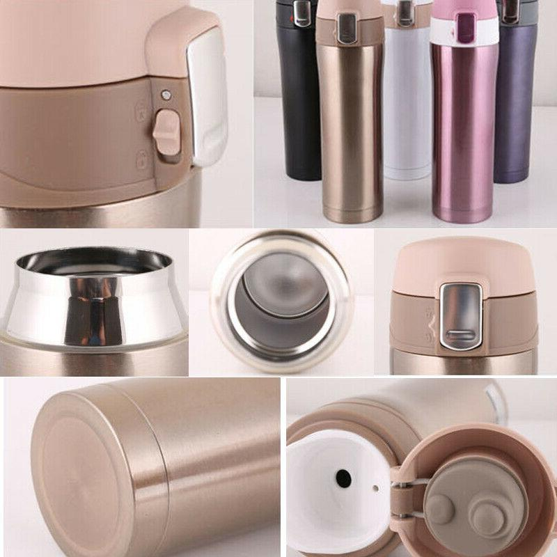 Thermos Coffee Tea Stainless Flask Water Bottle Cup 17oz