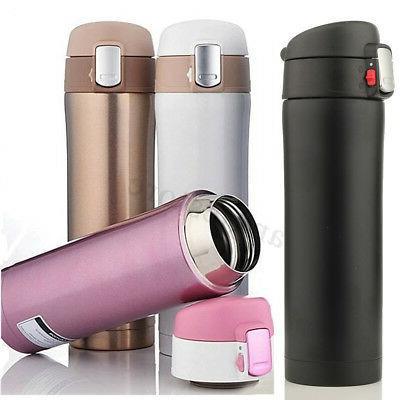 17oz thermos coffee tea travel mug stainless
