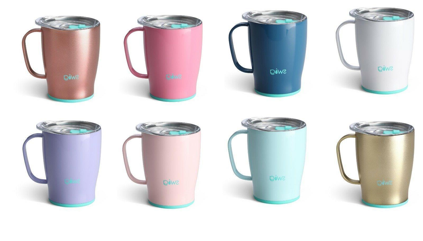18 oz travel insulated coffee mug choose