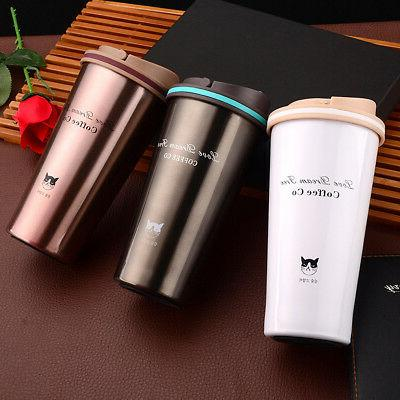 1X Stainless Steel Insulated Mug Portable