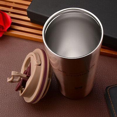 1X Insulated Thermal Travel Mug Flask