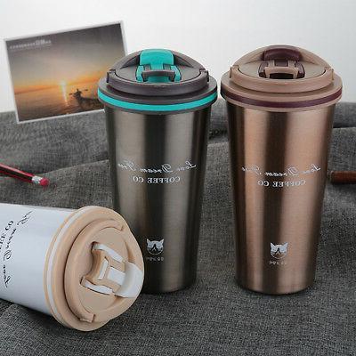 1X 500ML Stainless Insulated Coffee Mug
