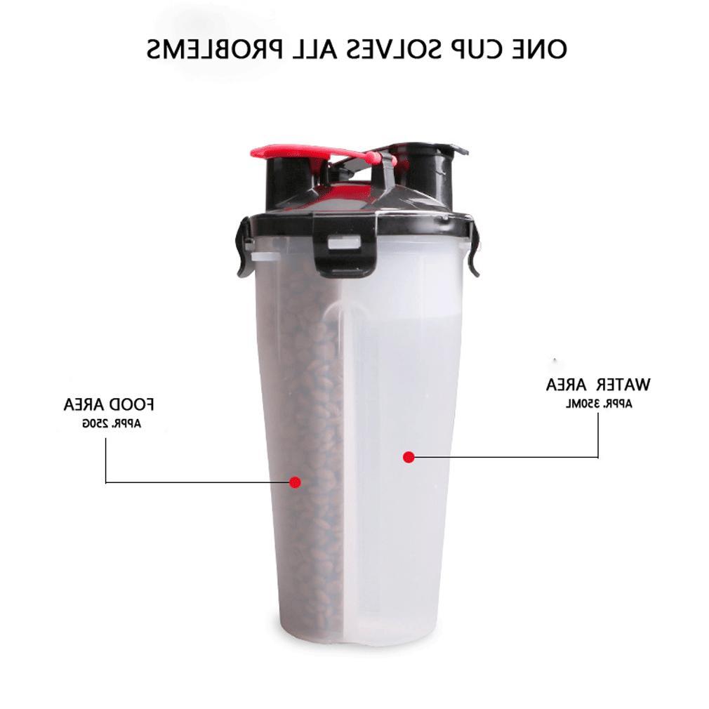 2 Bottle <font><b>Travel</b></font> Leak-Proof <font><b>Tray</b></font> Bowl <font><b>Mug</b></font>