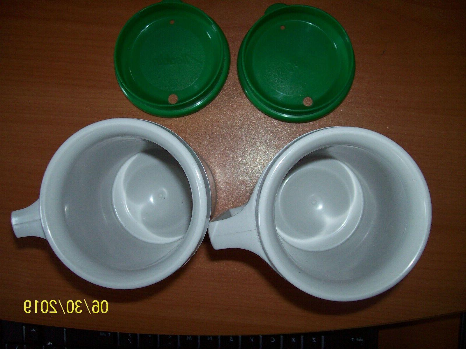2 - Vtg BP Insulated Cup 12 mug