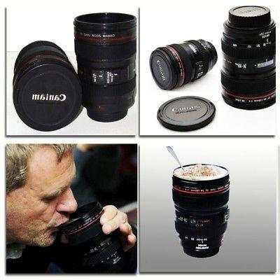 24-105mm Novelty Camera Lens Travel Coffee Mug US