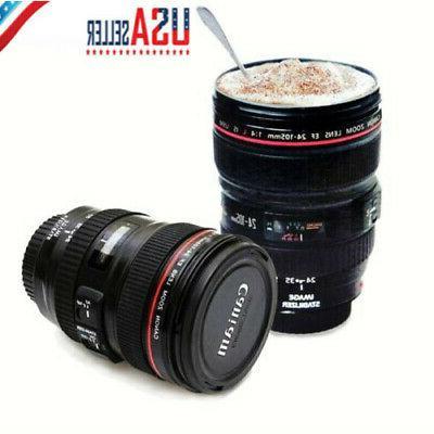 24 105mm novelty stainless camera lens travel