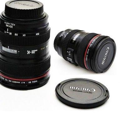 24-105mm Mug Tea Coffee Camera Lens Shape Cup