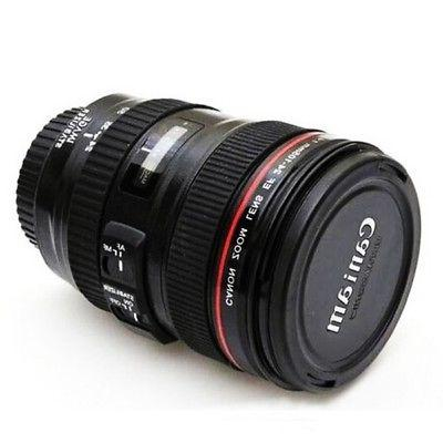 24-105mm Travel Mug Tea Coffee Camera Cup