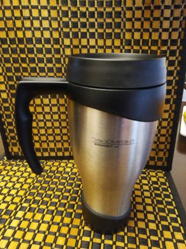 Thermos 24 OZ, Travel Mug, Unbreakable Stainless Steel
