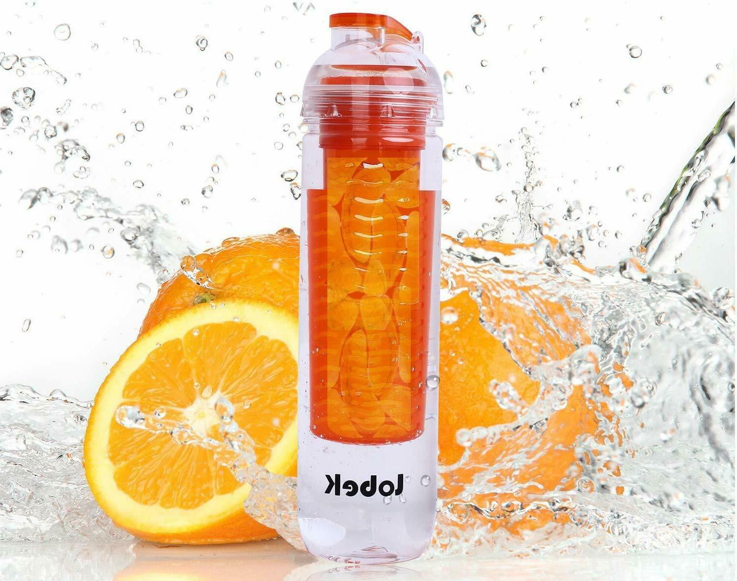 27oz BPA Water Fruit Lemon Travel Juice Health