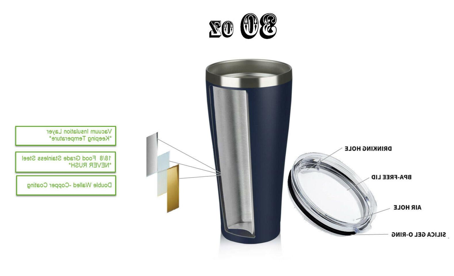 30 OZ Tumbler Insulation Travel Mug