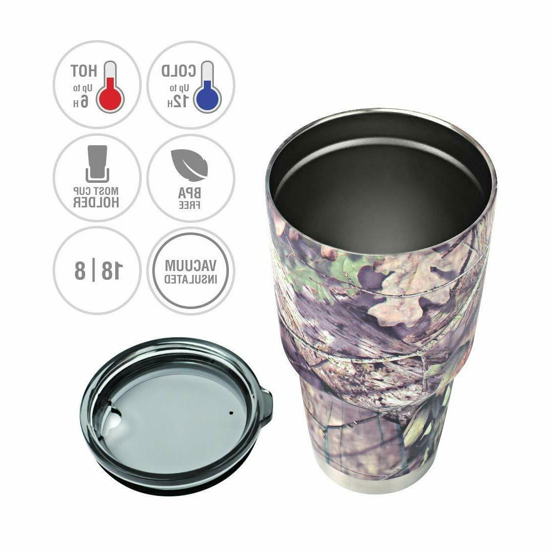 30 Oz. Insulated Tumbler Cup Mug Stainless