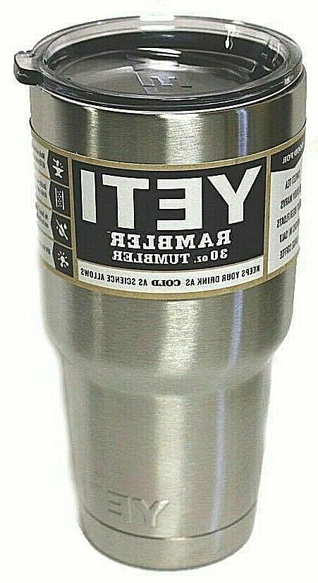30oz stainless steel tumbler cup with lid