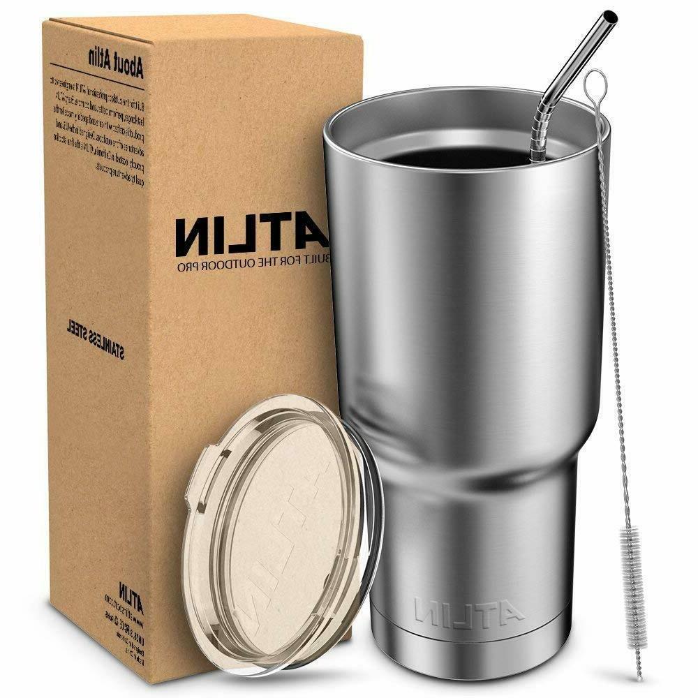 """""""30oz Vacuum Yeti Lid Travel Coffee Mug"""