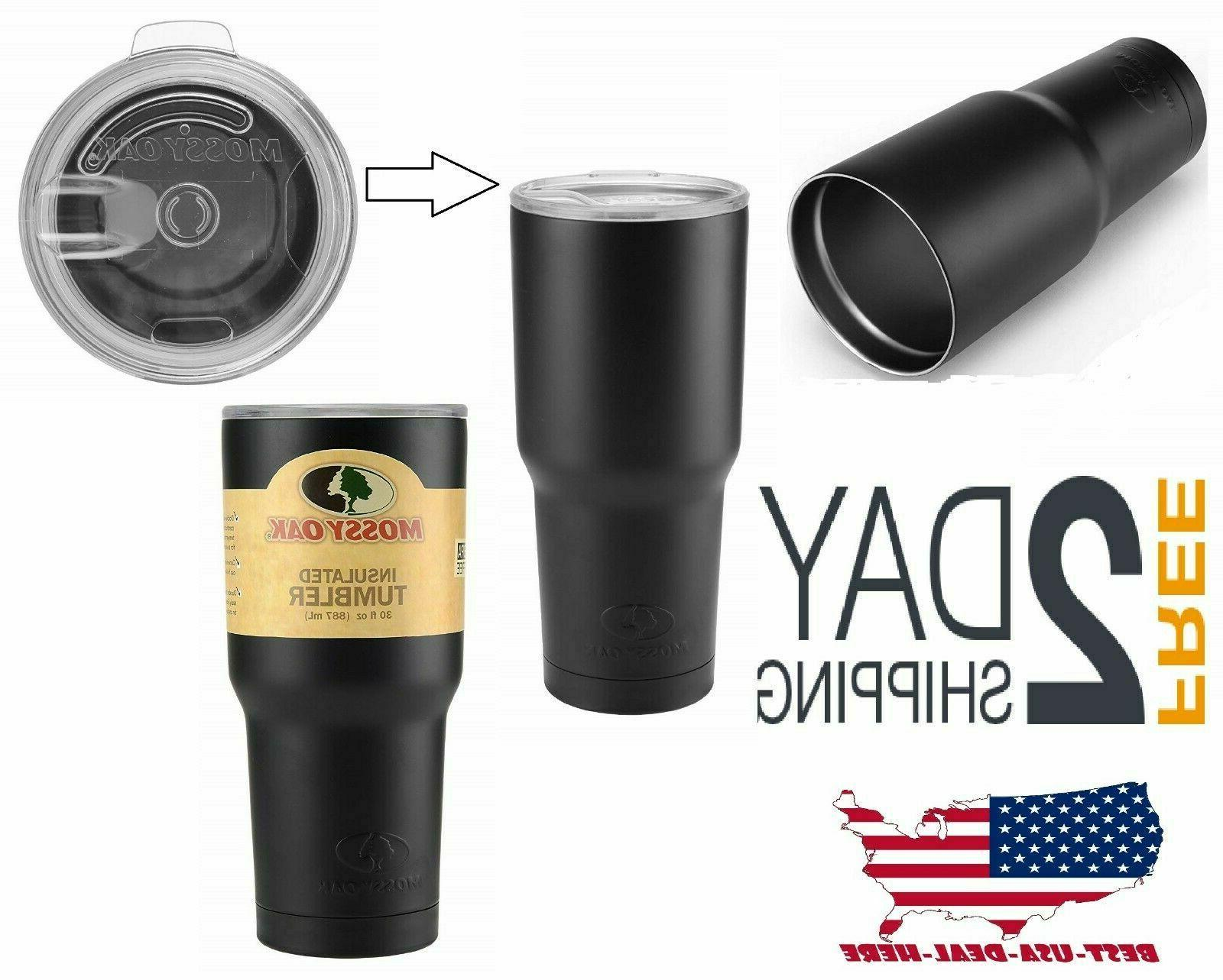 30oz Vacuum Insulated Non-Spill Lid Tumbler Yeti Rambler Cup