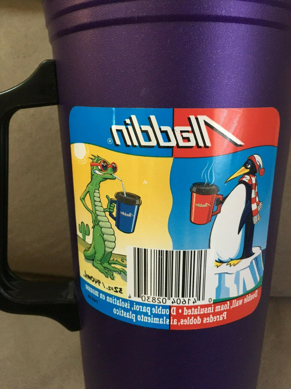 32oz Aladdin Insulated Coffee Purple