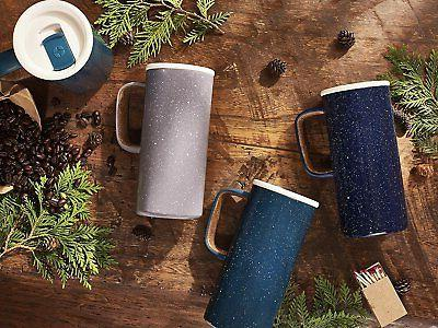 Ello 429-0293-026-6 Insulated Stainless Travel Navy, 18 oz