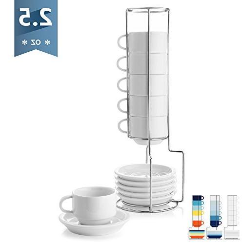4310 porcelain stackable espresso cups